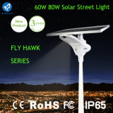 3 Years Warranty 60W LED Integrated Solar Street Light