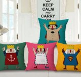 Specifical Design Fashionable Printed Cotton Cushion