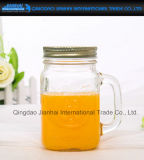 Custom Domestic Glass Juice Bottle with Metal Cap