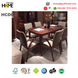 Antique Solid Wood Dining Table Luxury Dining Room Furniture (HCD03)