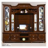 Wooden TV Stand Home Living Room Hall Cabinet