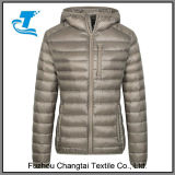 Women′s Lightweight Packable Down Hooded Insulated Coat