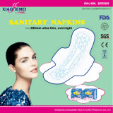 28cm Ultra-Thin Sanitary Pads for Night Use with FDA, CE Certificate