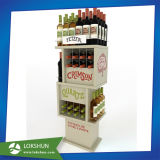 Retail Wooden Wine Store Display Showcase