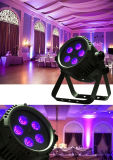 Rasha New Hot Sale 5PCS*18W 6in1 Rgbaw UV Waterproof LED PAR Light DMX Stage Light