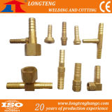 Brass Fitting Short Pipe Tee Joint for CNC Flame Cutting Machine