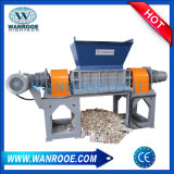 Low Noise Plasic Woven Bag Recycling Twin Shaft Shredder Machine