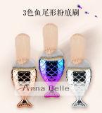 Magical Mermaid Foundation Fishtail Makeup Cosmetics Brushes