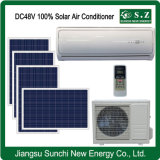 Low Power 48V 100% DC Air Conditioner of Solar Panels
