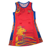 Custom Dye Sublimation Netball Bodysuit for Women Players