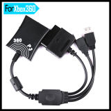 Controller Converter Adapter Cable for PS2 Adapter to Microsoft xBox 360 & PS3 Controller