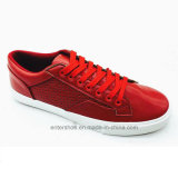 Red Color Fashion Leather Men Shoes (ET-LH160314M)