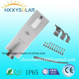 80W Outdoor Light Integrated All in One Solar LED Street Light with Motion Sensor
