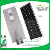 CE RoHS IP65 60W All in One Solar Lights