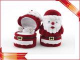 Velvet Ring Box Christmas Jewelry Packing Box