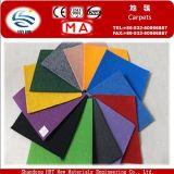 Manufacturer China Velour Carpet Red Exhibition Carpet