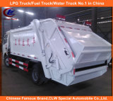 4*2 Mini Dongfeng Waste Collection Garbage Truck