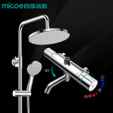 Wall Mounted Rain Shower Set Mixer Shower Set with Hand Shower