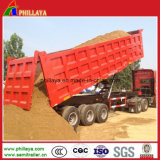 Box Body Cargo Truck Semi Trailer / Dumper Truck