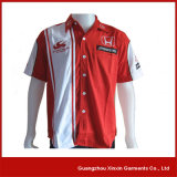 High Quality Men′s Cotton Embroidery F1 Racing Shirts (S05)