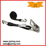 "1"" S-Hooks Ratchet Strap 1"" X 10′ Stainless Steel (customized)"