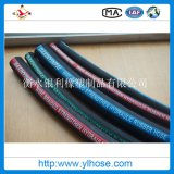 Four Wire Steel Hydraulic Rubber Hose Spiraled Pipe