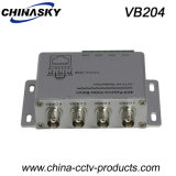 4 Channel BNC to RJ45 /Cat5 Video Balun for CCTV (VB204)
