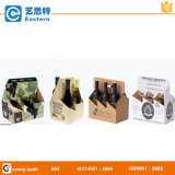 Custom Cardboard Box Beer Carrier with Handle