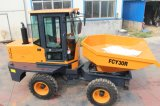 Mini Hydraulic Front Site Dumper with Tipper Bucket