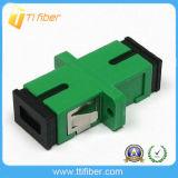 Sc APC Singlemode Simplex Fiber Optic Adapter