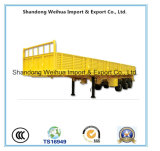3 Axles Utility Cargo Trailer Side Wall Semi Trailer
