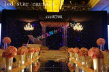 Stage Equipment LED Star Curtain for Wedding or Party with Excellent Effect Light