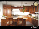American Style Wooden Kitchen Cupboard