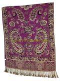 Classical Cashew Design Acrylic Jacquard Weave Shawls