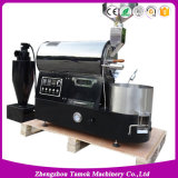 Double Layer Drum Mini Coffee Bean Roaster with Ce