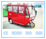 Solar Electric Passenger Tricycle 5 Seats, Covered Wagon, Three Wheel
