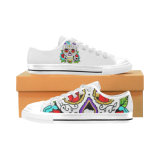 Style No Custom Sneaker 031 Low Cut Print Unisex Canvas Casual Shoes Custom Canvas Sneakers