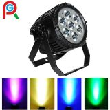 High Power 7X10W RGBW 4in1 Outdoor LED PAR Light with CREE LEDs