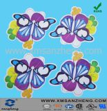 Colorful Flower Self Adhesive Heat Resistant Unique Name Glossy Labels