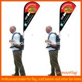 Custom Advertising Backpack Teardrop Flag
