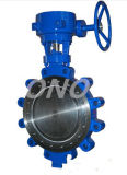 ANSI Standard Folder Connection Metal Seal Lug Type Butterfly Valve