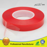 Red Film Double Sided/Side Pet Tape From Manufacturer