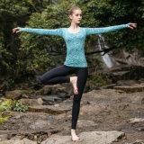 Woman′s Long Sleeve Fitness Gym Yoga Sportswear