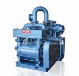 Liquid Ring Vacuum Pump Pumping Air From Industry Process