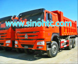 Sinotruk HOWO Dump Truck, Right Hand Drive for Uganda/Kenya/Fiji, Malaysia/Mozambique/Tanzania