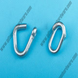 Galvanized Chain Repair Link and Cold Shut
