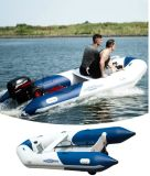 Aqua Marina Inflatable Marine Boat Speed Tender, Wood Deck, Aluminium Floor Boat