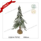 2017 H70cm Popular Indoor Plastic Artificial Needle Christmas Tree