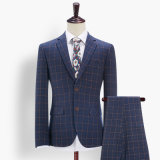 Latest Design Wool Coat Pant Men Suit