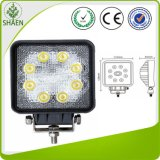 IP67 Squre Epistar 24W LED Work Light for 4*4